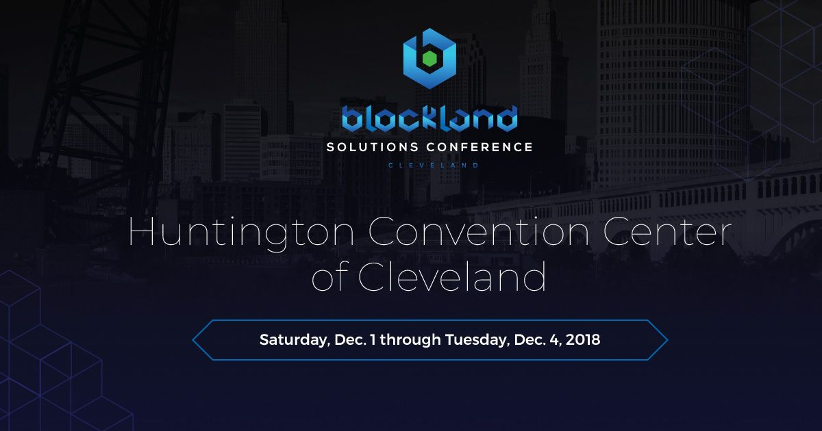 ChromaWay at Blockland 2018 in Cleveland