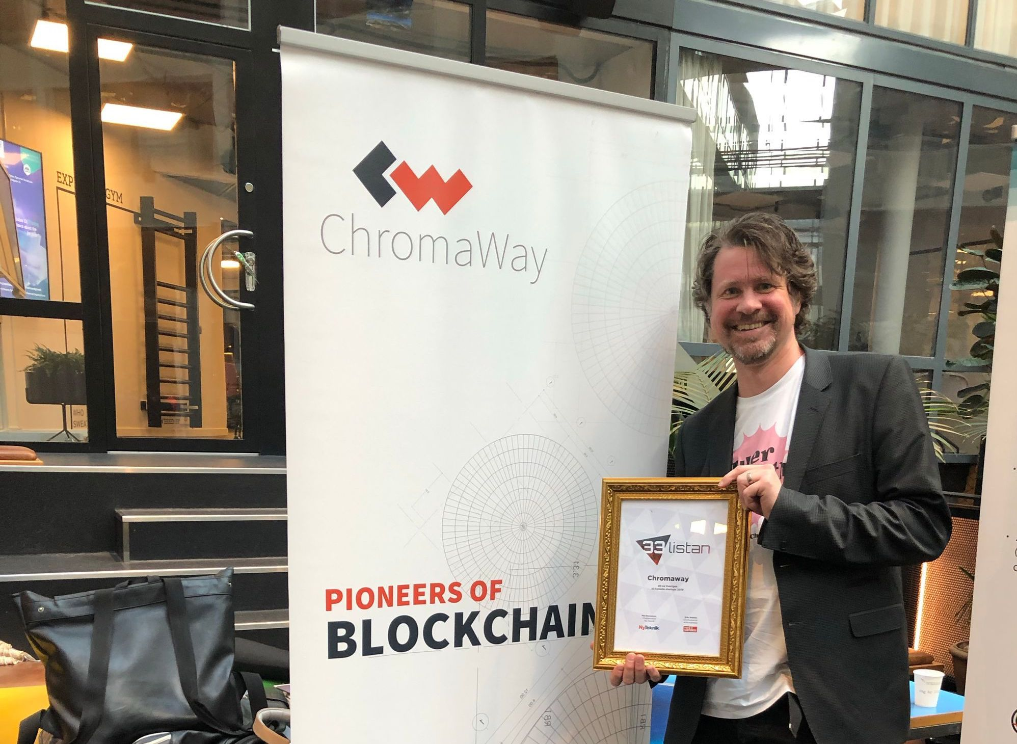 ChromaWay is, for the second time, recognized as one of the best startups in Sweden